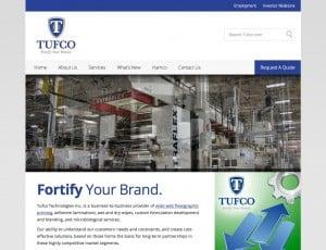 Tufco - Adhesive laminations and adhesive laminating