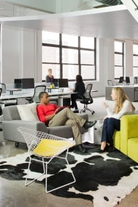 Collaborative office furniture - Systems Furniture