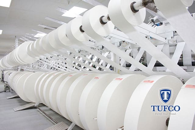 TUFCO Technology, Inc. Updates Nonwoven Wipes Printing