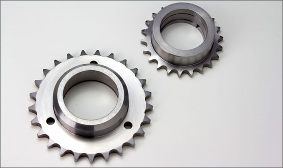 Custom Sprockets Feature a Variety of Sizes and Materials