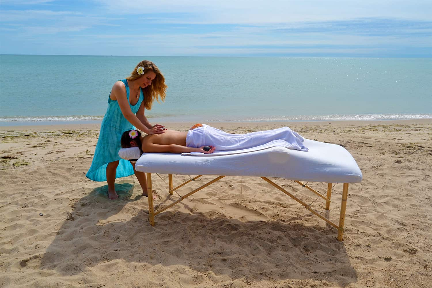 Bring Spirit, Mind and Body Together with Seashell Massage Training