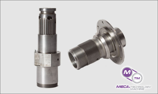 Spline Couplings from MECA & Technology Machine Excels in the Field