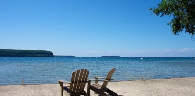 Door County waterfront resort - Ephraim Shores
