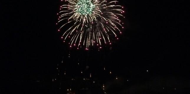 Ephraim hotel fireworks