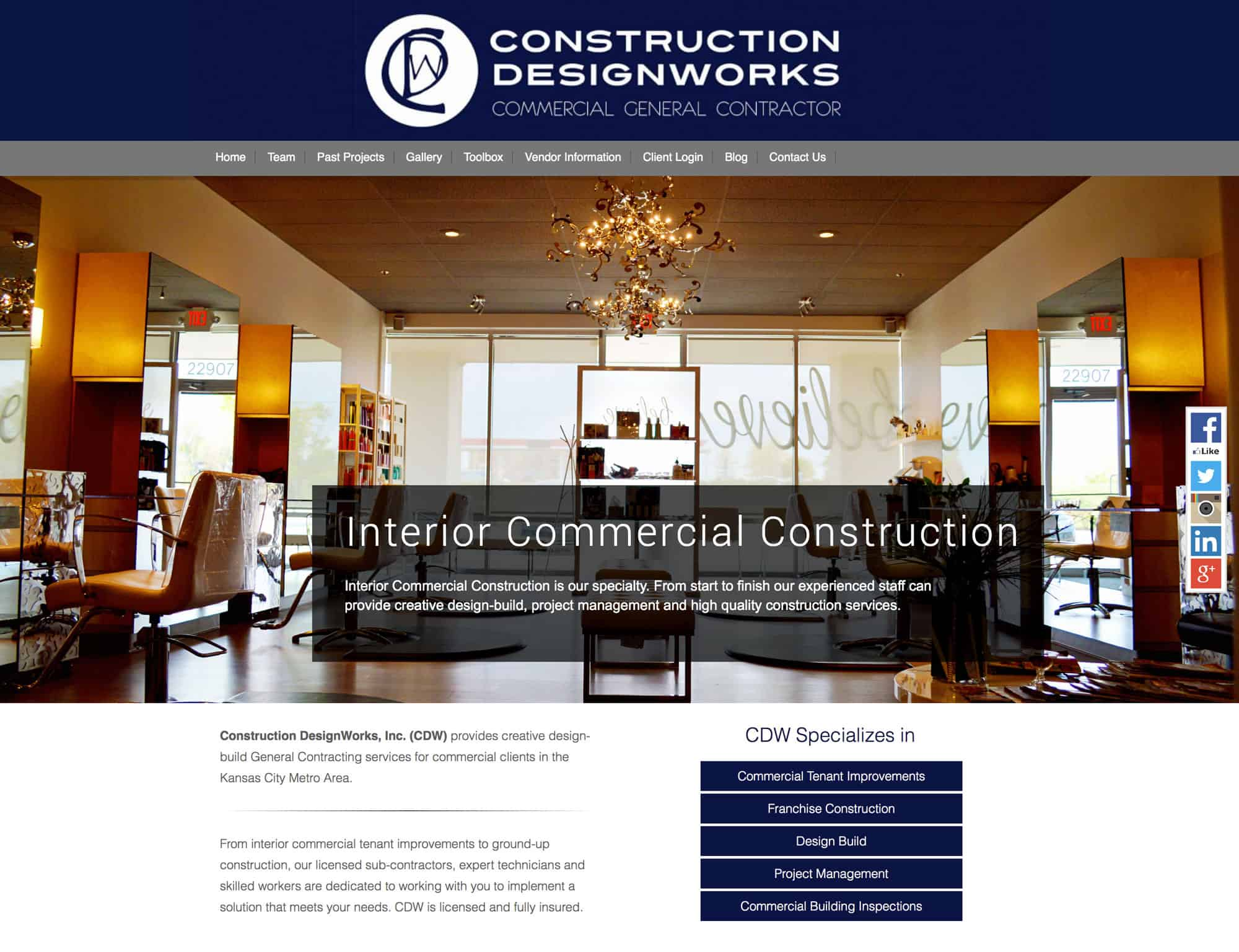Contractor Website Builder
