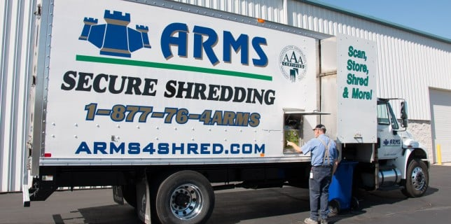 secure document shredding with ARMS