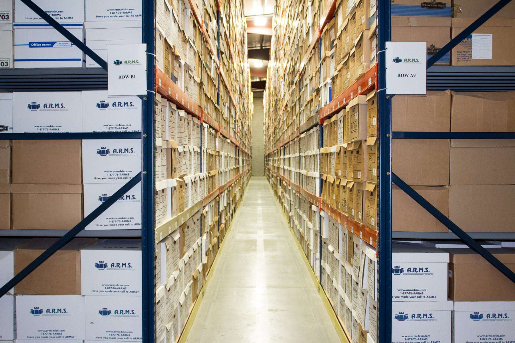 ARMS Provides Cost-Effective Records Storage Solutions