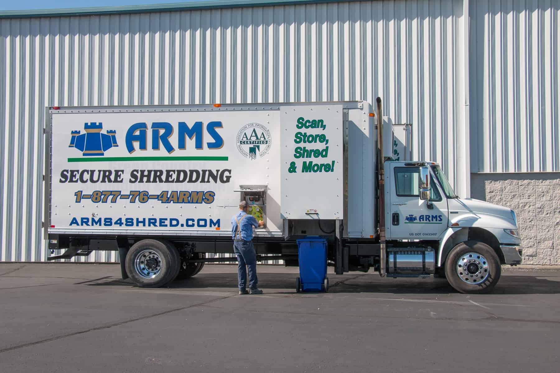 Secure Paper Shredding Ensures Protection of Sensitive Information