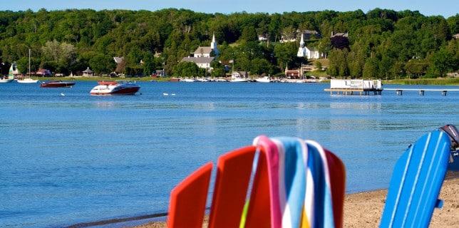 beach resort Wisconsin