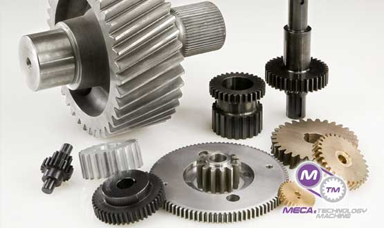 MECA & Technology Machine's Custom Replacement Gears Recharge Productivity