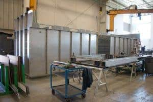 Metal fabrication by Badger Sheet Metal Works