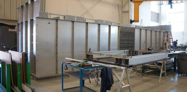 Metal fabrication by Badger Sheet Metal Works