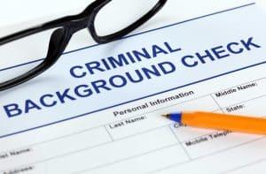 pre-employment criminal background check