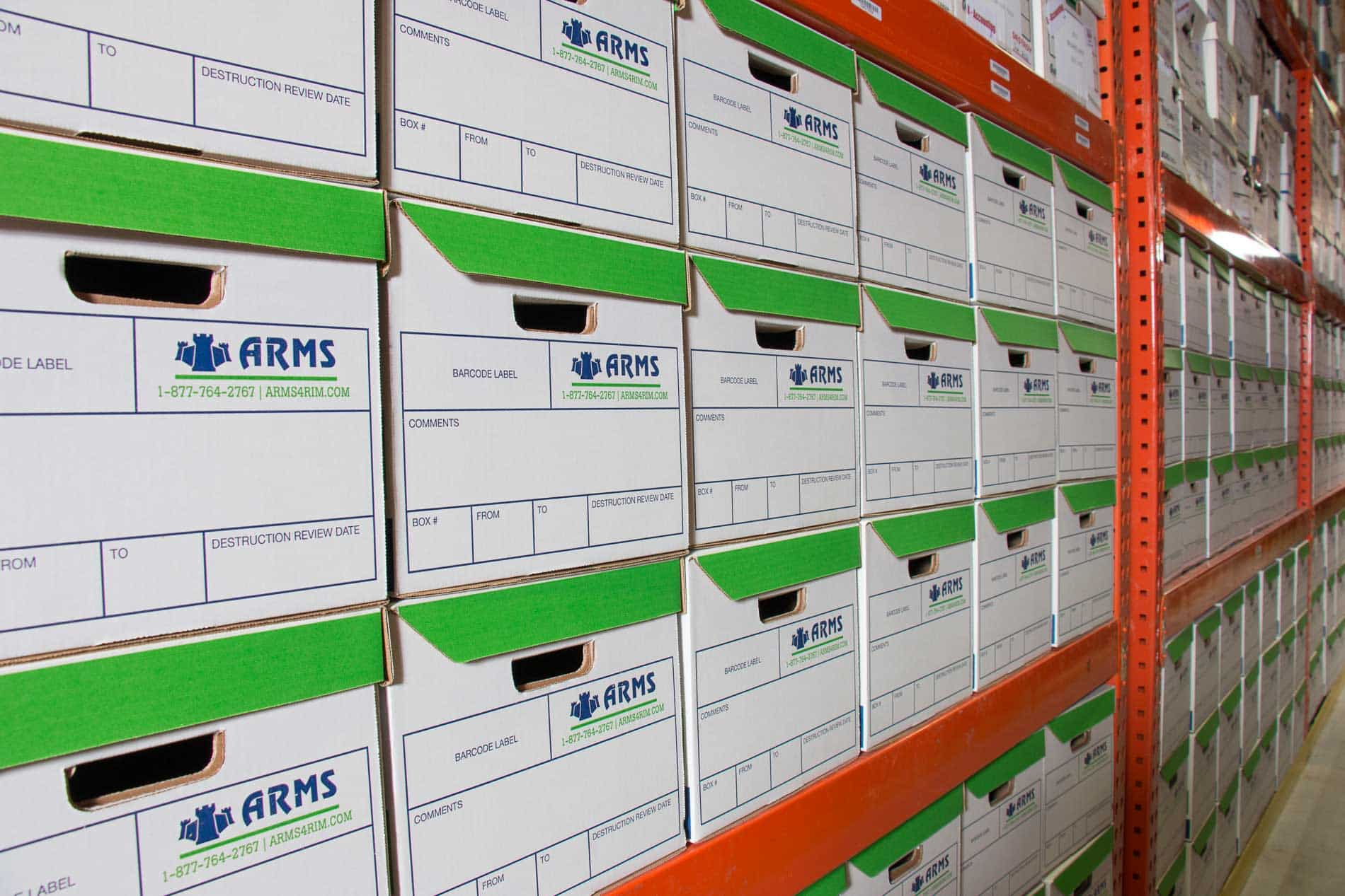 ARMS Offers Cost-Effective Document Storage in Green Bay, Wisconsin