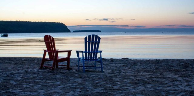 best resort in Door County - Bay Breeze Resort