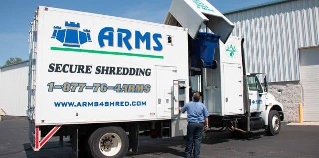 record shredding in Green Bay WI