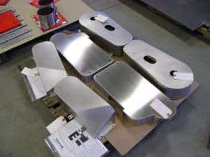 medical component assembly at Badger Sheet Metal Works