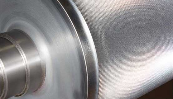 Mechanically engraved roll refurbishment from MECA