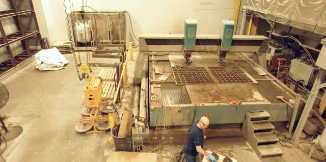 water jet cutting by Robinson Metal
