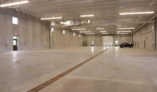 IEI General Contractors provide commercial concrete work in Green Bay
