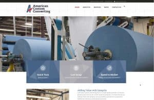American Custom Converting Launches Updated Website