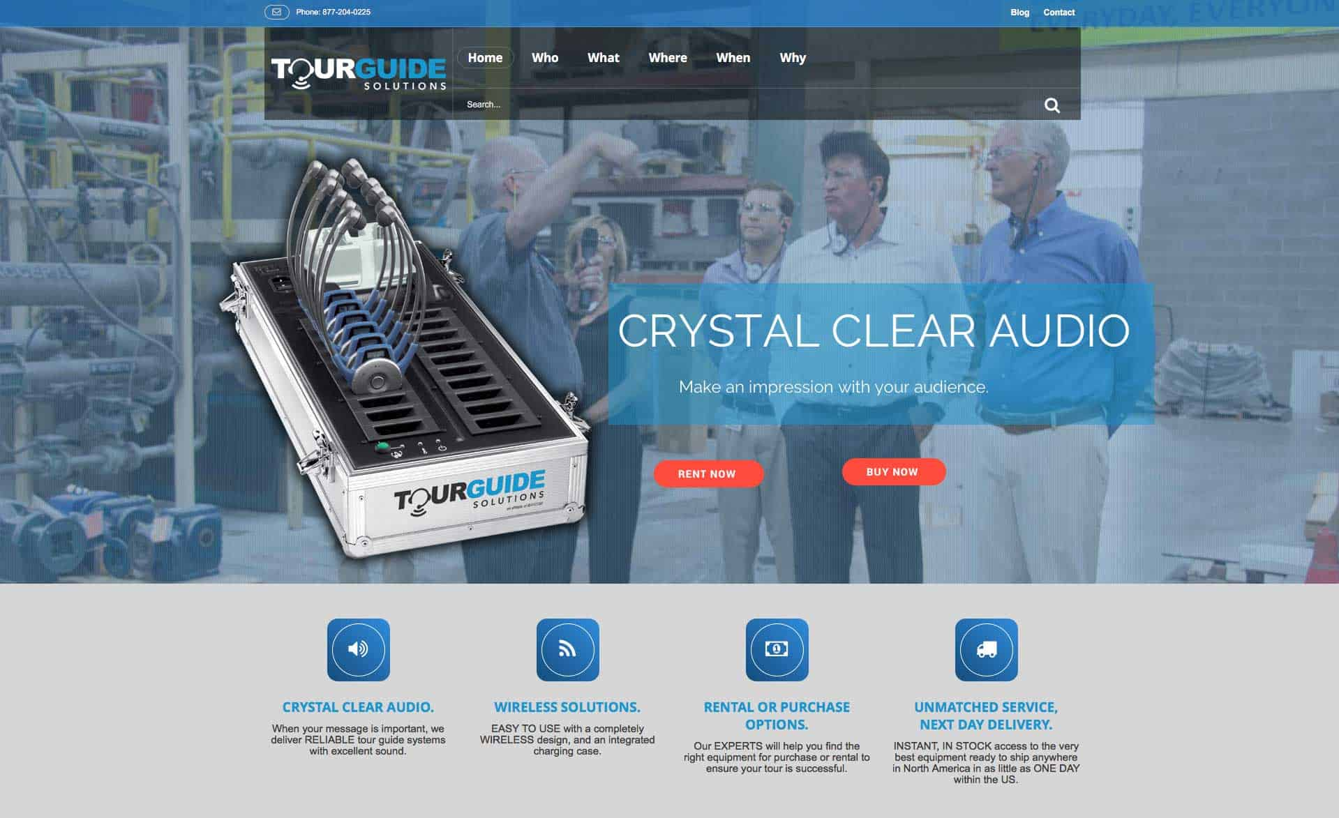 TourGuide Solutions Launches New Website with Enhanced Features