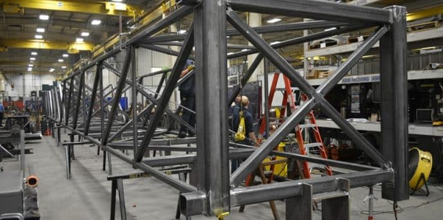 Structural fabrication from Robinson Metal