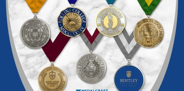 Medalcraft Mint graduation awards