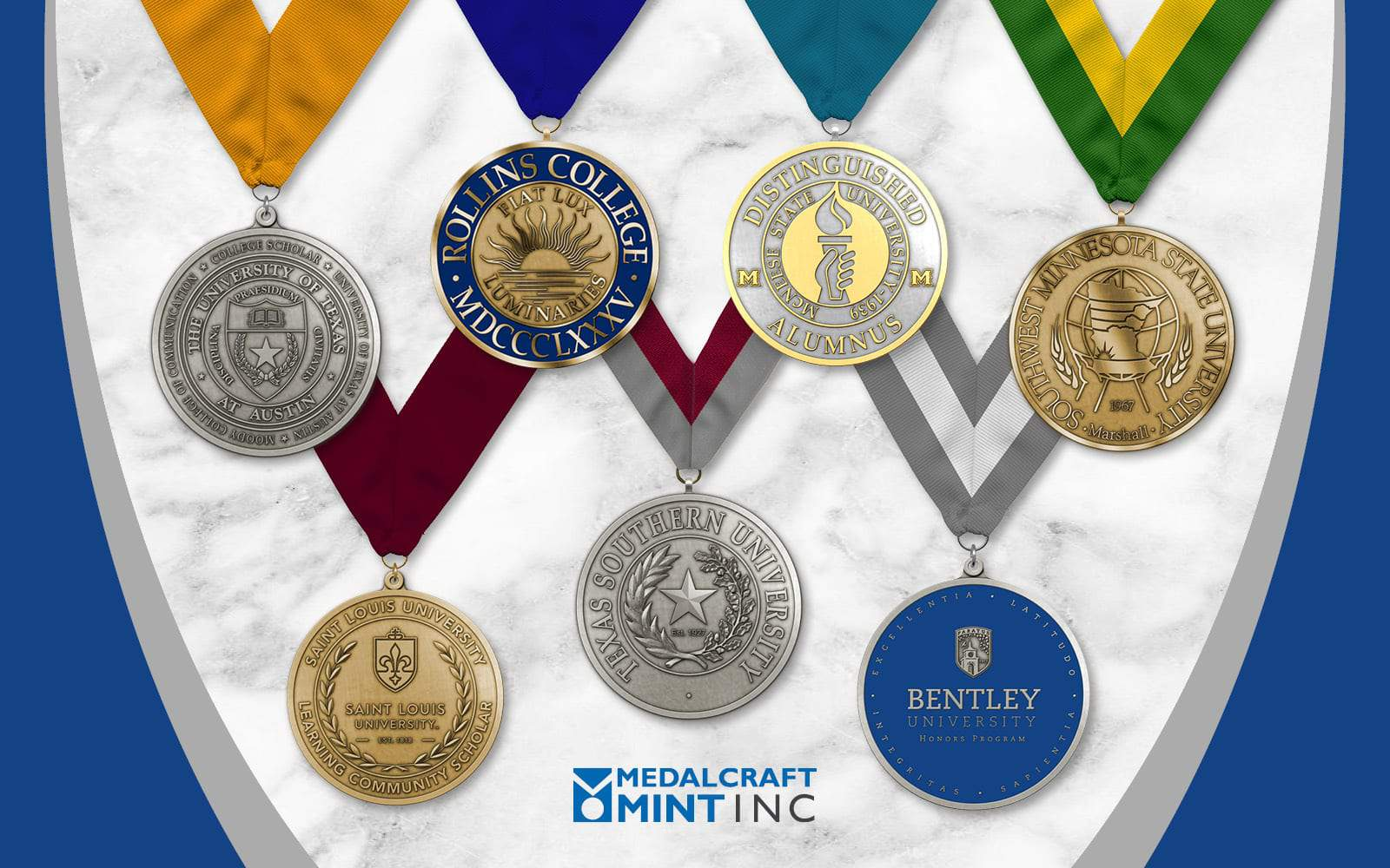 Medalcraft Mint Takes Graduation Awards to a Higher Level