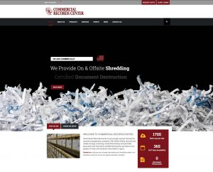 New Look, Information Highlight Commercial Records Center's Updated Website