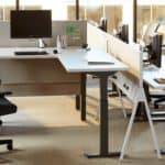 Stand-up workstation from Systems Furniture