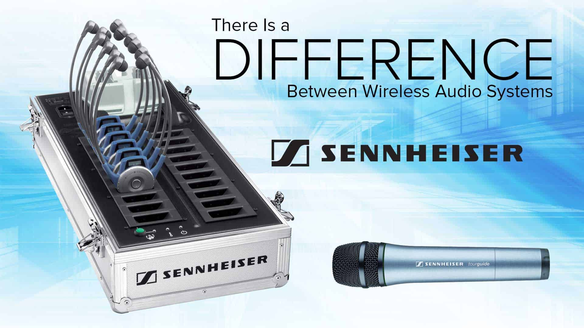 TourGuide Solutions Offers the High-Quality Sennheiser Tour Guide System