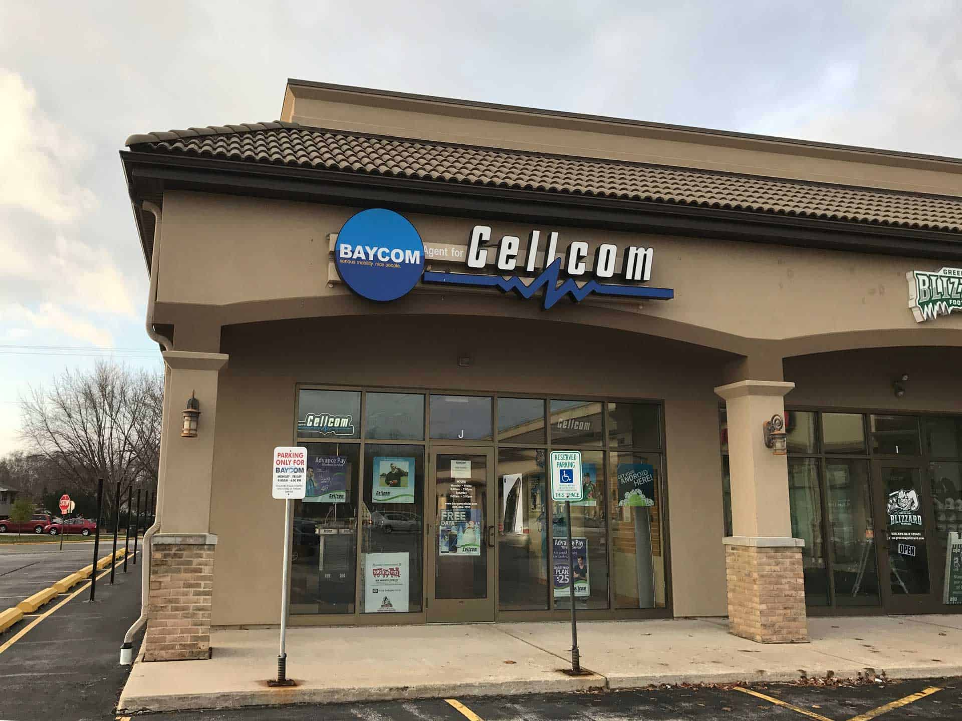 BAYCOM Cellular Locations Are Your Cellcom Stores in Green Bay