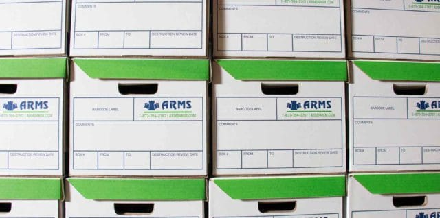ARMS document storage
