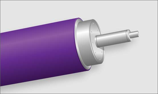 MECA Specializes in Rubber Roll Production for Converters