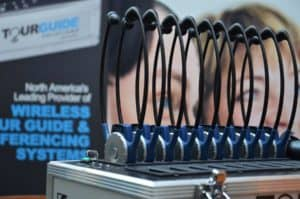 Tour audio systems rental by TourGuide Solutions