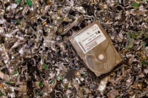 Commercial Records hard drive destruction in El Paso