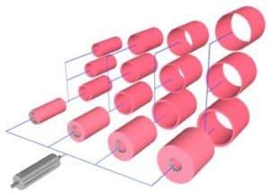 MECA Carbon Fiber Bridge Sleeves Maximize Flexographic Printing Press ROI