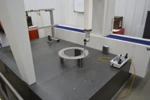 CMM inspection at Robinson Metal