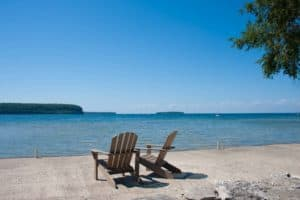 Ephraim Shores Resort waterfront lodging in Door County