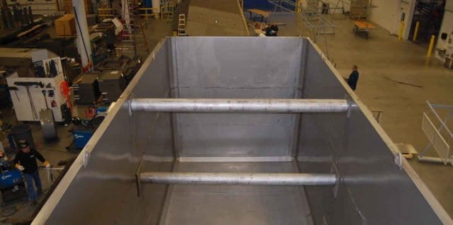 Badger Sheet Metal Works custom tank fabrication