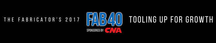"Robinson Metal Inc. Ranked 10th on ""The Fabricator"" Magazine's Fab 40 List"