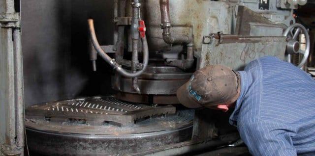 Titletown Manufacturing metal surface grinding