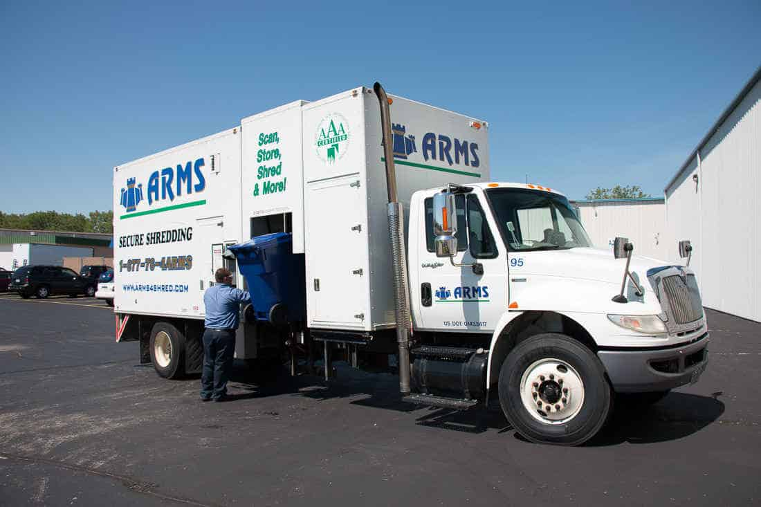 ARMS Leads Shredding Companies in Northeast Wisconsin