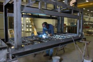 Badger Sheet Metal Works fabrication and assembly