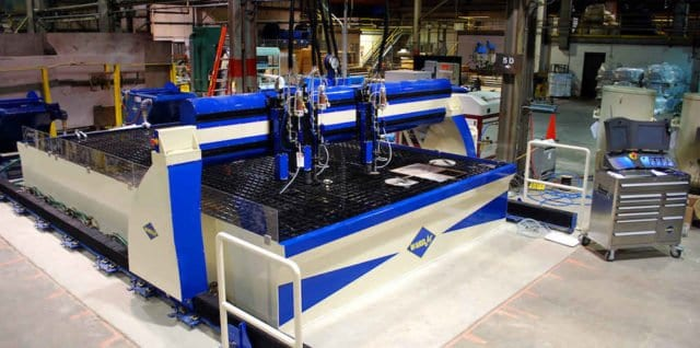 Robinson Metal WARDJet R-2014 waterjet