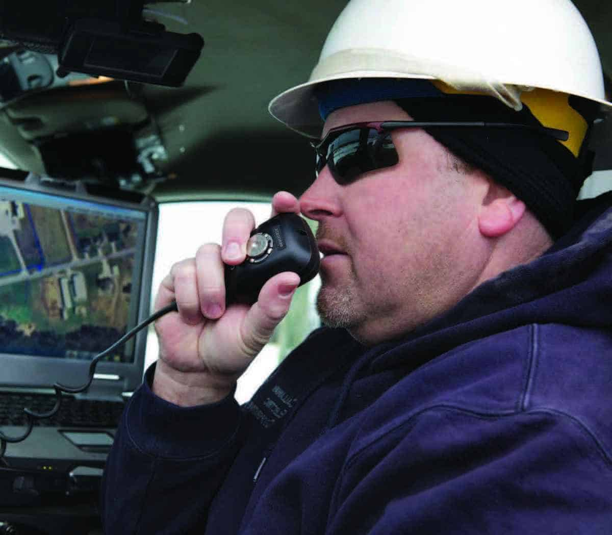Radios Safe for Drivers Feature Digital Push-to-Talk Technology