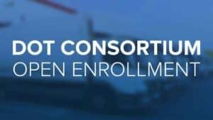 DOT Consortium open enrollment