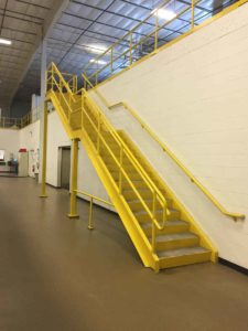 Mezzanine Platforms Provide Safe Access to Tall Structures