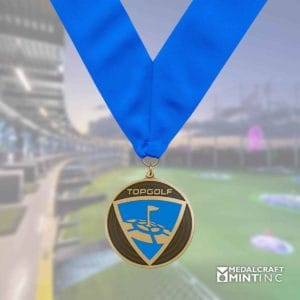 topgolf award medal